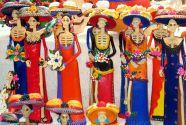 Multicolor catrinas