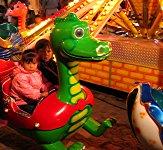 Dragon ride at the carnival