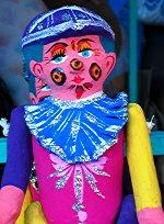 Girl muñeca de carton
